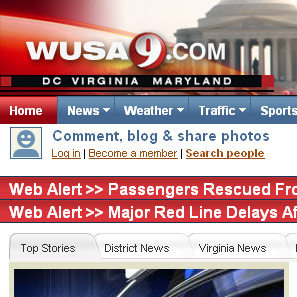 Web Alert:  Is Anybody Doing the News?